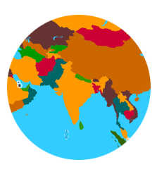 Asia | Countries, Capitals and Flags  Countries Of Asia Map Quiz on north america map quiz countries, asia map test, asia map numbered, asia countries test, europe map quiz countries,