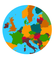 Europe Countries Capitals Flags Waters Mountains And More - World geography countries