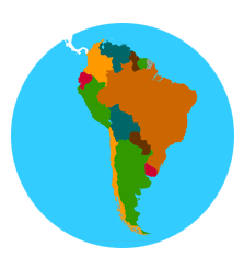 The Americas USA Canada Mexico Caribbean Central And South - World geography countries