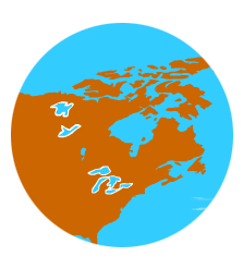 World | Continents, oceans, rivers, islands and more world map games